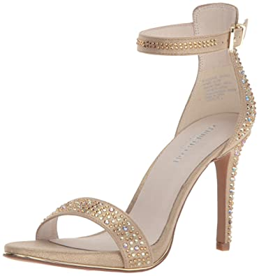 9846b2075eee Kenneth Cole New York Women s Brooke Shine Glitzy Stiletto Dress Sandal  Heeled