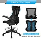 Furmax New Mid Back Office Chair Mesh Desk Computer