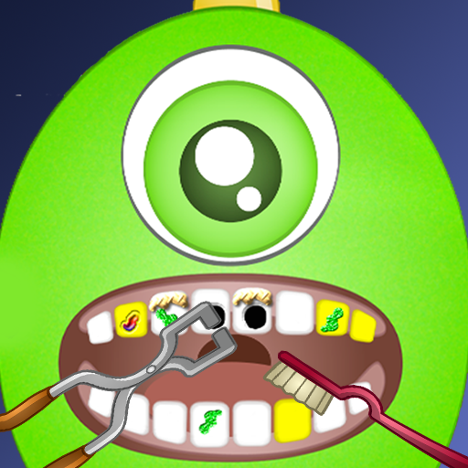 Flappy Monster Celebrity Dentist Office - Fun Virtual Kids Nurse and Doctor Games (Happy Halloween Spooky Sounds)