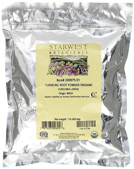 Starwest Turmeric Root Powder (1 lb.)
