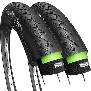 Fincci Par 700 X 35c 37-622 Cubiertas para Carretera MTB Montaña Hibrida Turismo Bici Bicicleta (Paquete de 2): Amazon.es: Deportes y aire libre