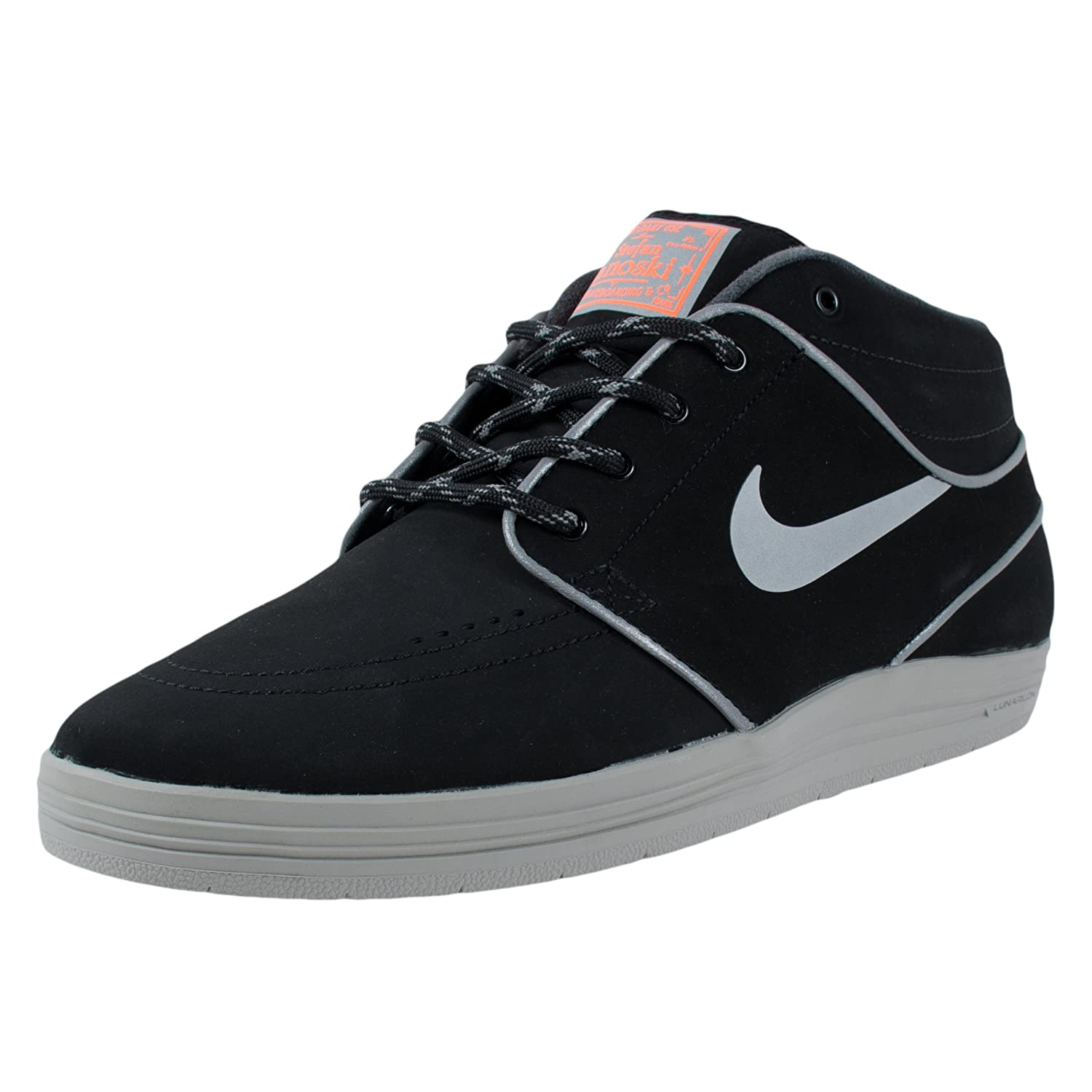 finest selection 0a186 29116 nike SB lunar stefan janoski MD shield mens trainers 707228 sneakers shoes  (uk 6 us 7 eu 40, black reflective silver hyper crimson 006)  Amazon.co.uk   Shoes ...