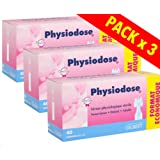 Physiodose Physiological Serum - 3 Boxes of 40 Single Doses