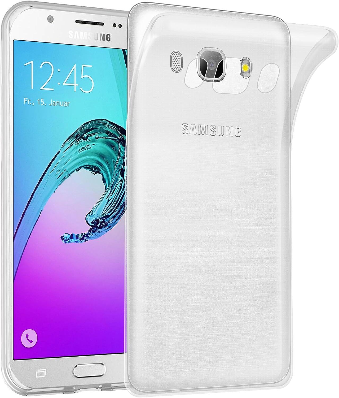 Cadorabo Funda para Samsung Galaxy J7 2016 en Transparente ...