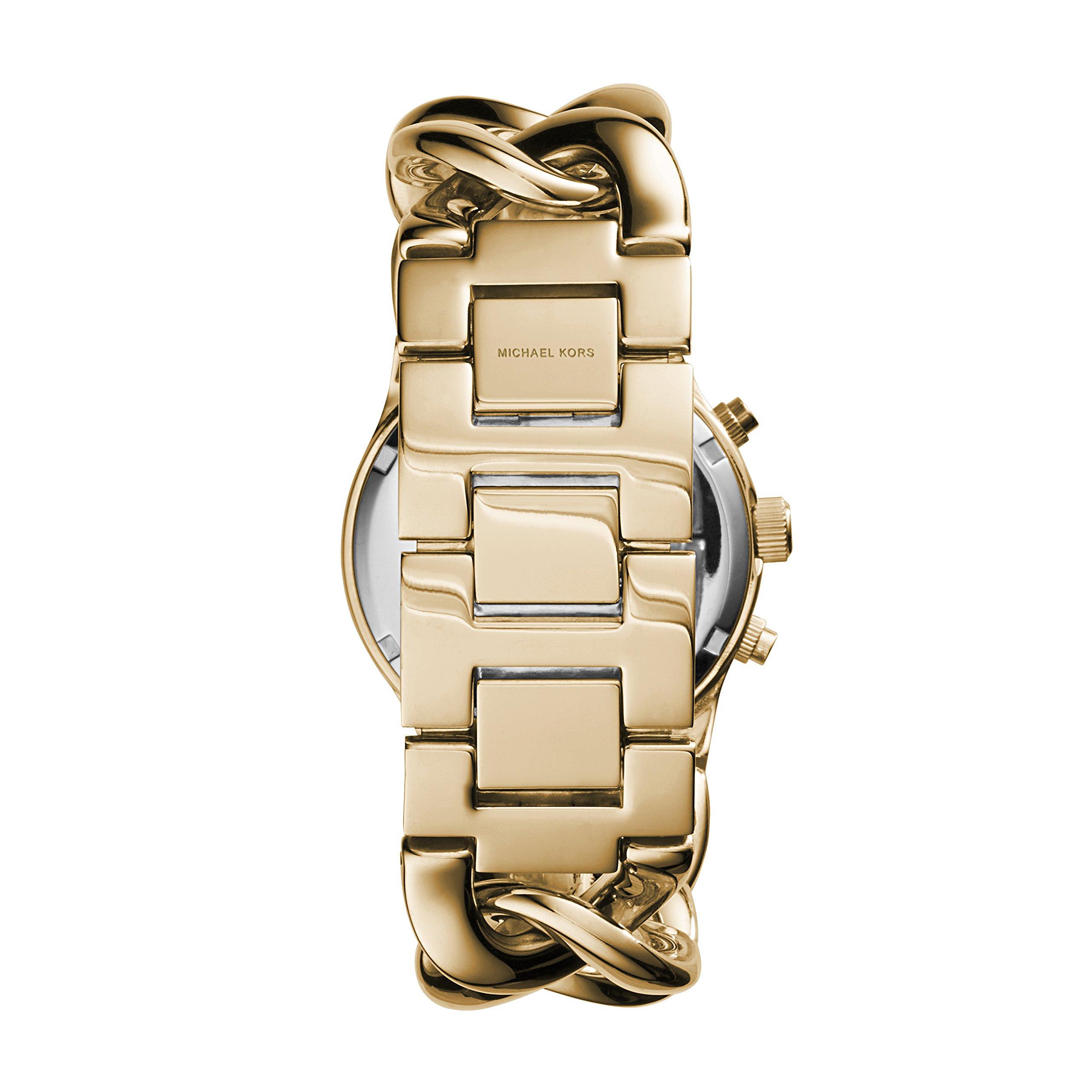 Michael Kors Women's Runway Gold-Tone Watch MK3131 by Michael Kors (Image #3)