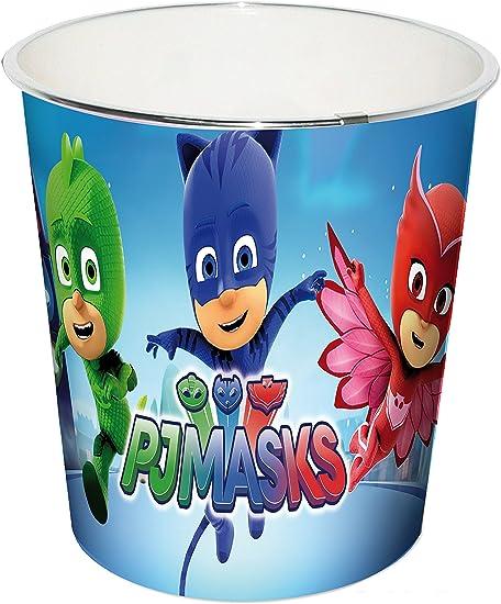 Desconocido Kids PJ Masks Papelera, Azul, 24x24x24 cm