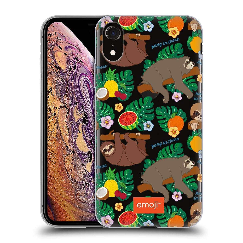 Amazon.com: Official Emoji Pattern Sloth Soft Gel Case for ...