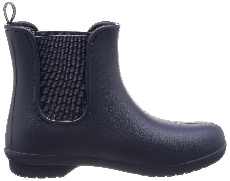 Crocs Damen Damen Crocs Freesail Chelsea Boot Damens Gummistiefel, Granit, One Größe Blau (Navy) e86a71