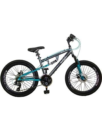 1d671217962 Muddyfox Girl Nebraska Suspension Dual Disc Brakes 21 Speed Mountain Bike