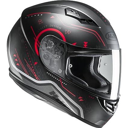 Casco Moto Hjc Cs-15 Safa Rojo (S , Negro): Amazon.es: Coche y moto