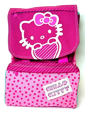 Giochi Preziosi - Mochila escolar extensible Hello Kitty Trendy: Amazon.es: Juguetes y juegos