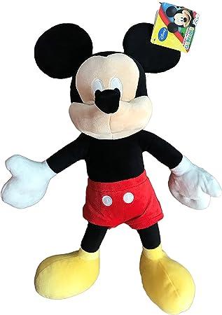 Mickey Mouse 30cm Muñeco Peluche Super Soft Raton Disney Junior Mickey Mouse Club House Alta Calidad: Amazon.es: Juguetes y juegos