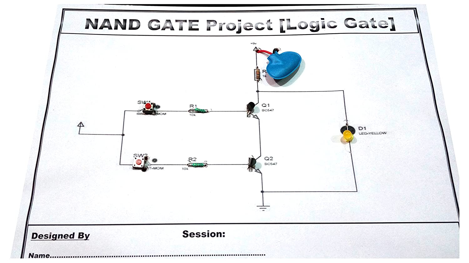 Nand Gate Logic For School Project Electronics Diagram Using Only Gates