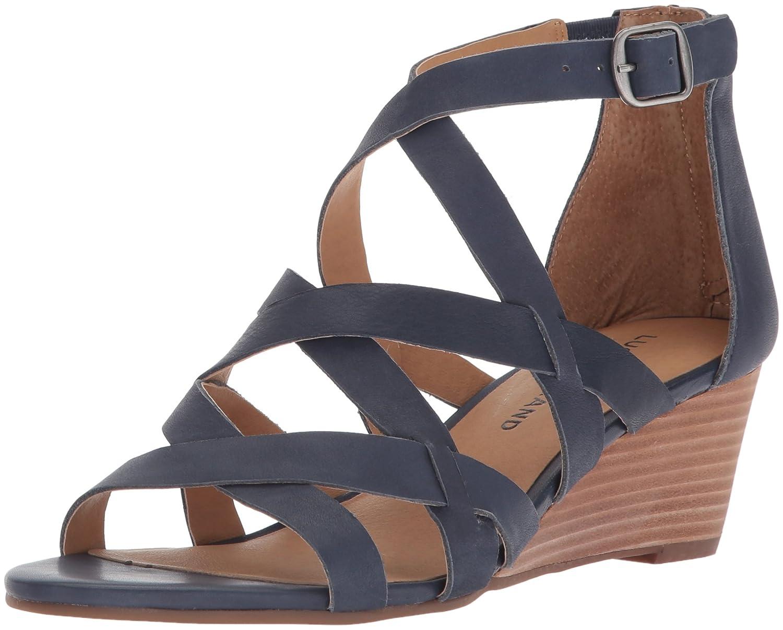 Lucky Brand Women's Jewelia Wedge Sandal B077G5HM1Q 7.5 B(M) US|Indigo