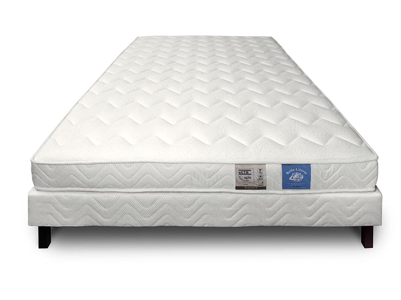 Je veux un lit Conjunto látex colchones 65 kg Buena + somier 160 x 200 cm: Amazon.es: Hogar