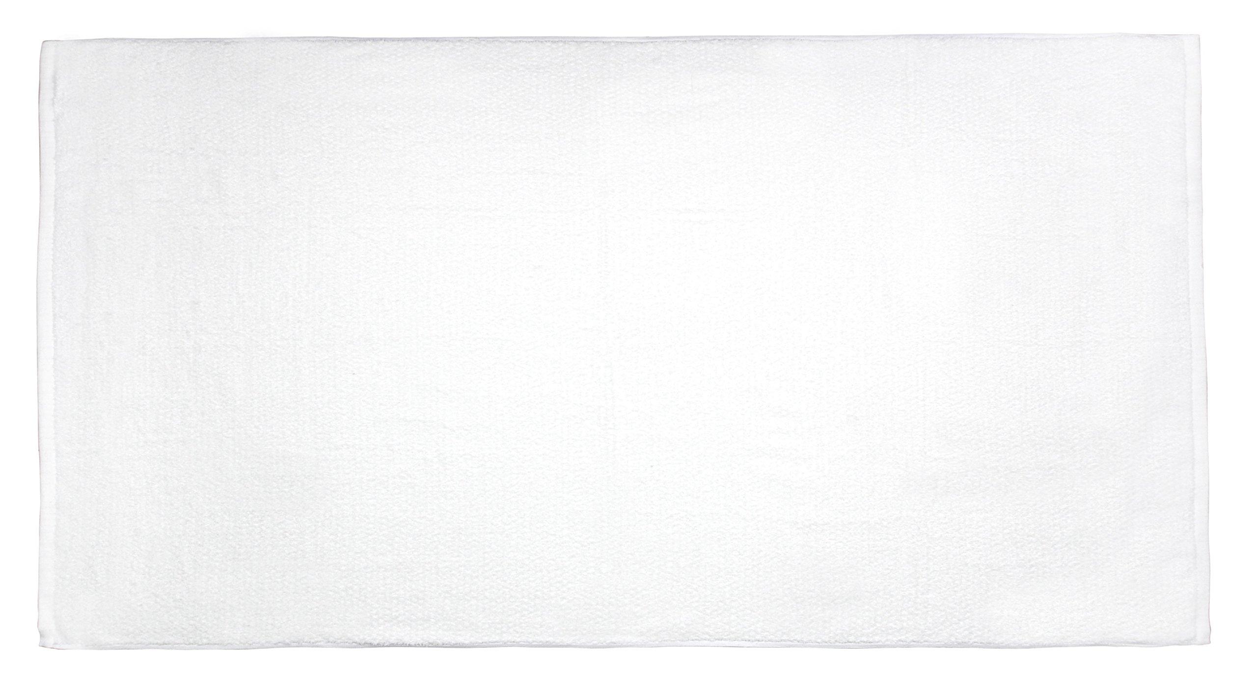 Everplush Diamond Jacquard Bath Sheet 2 Pack in White by Everplush (Image #3)