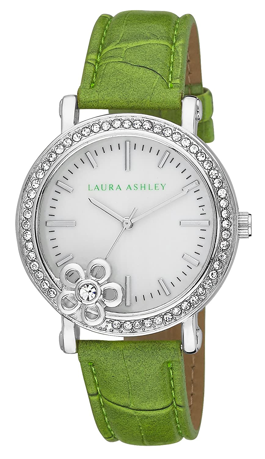 Laura Ashley Damen-Armbanduhr LA31013GR