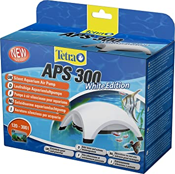Tetra Bombas de aire para acuarios APS blanco APS 300 white: Amazon.es: Productos para mascotas