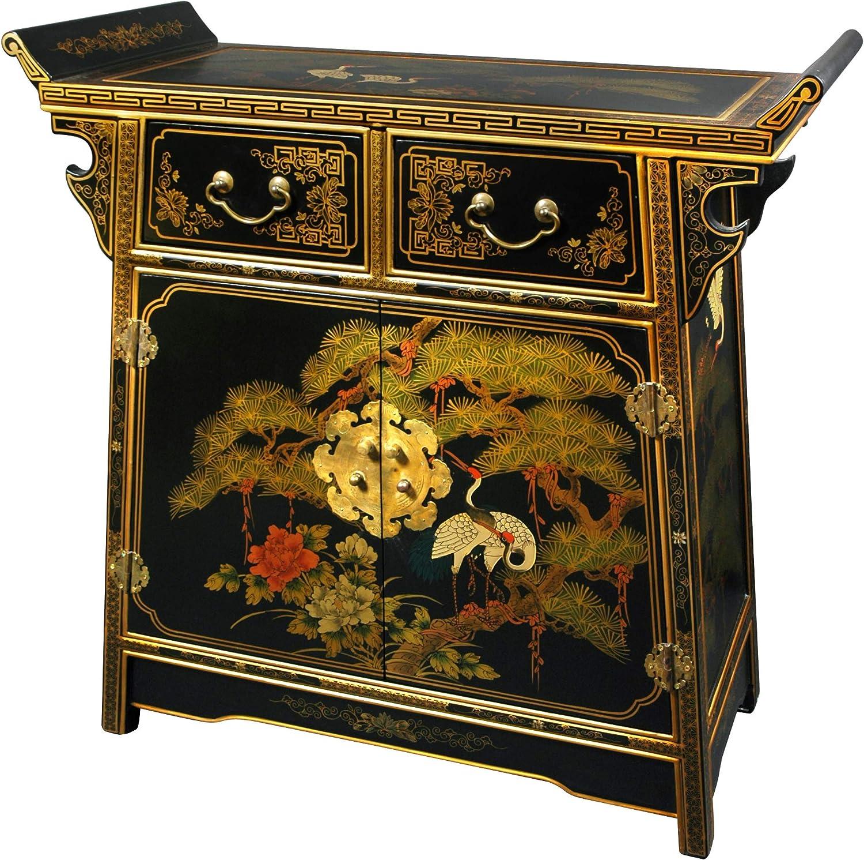 Oriental Furniture Lacquer Altar Cabinet