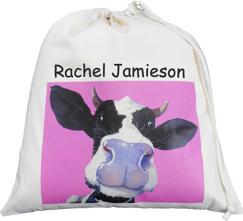 Personalised Dog//Puppy Gym//Tote//School//PE//Toy Drawstring Bag