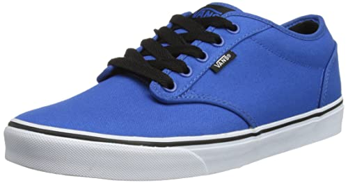 Vans M ATWOOD (CANVAS) BLUE/B - Zapatillas de lona hombre, color azul, talla 40.5: Amazon.es: Zapatos y complementos