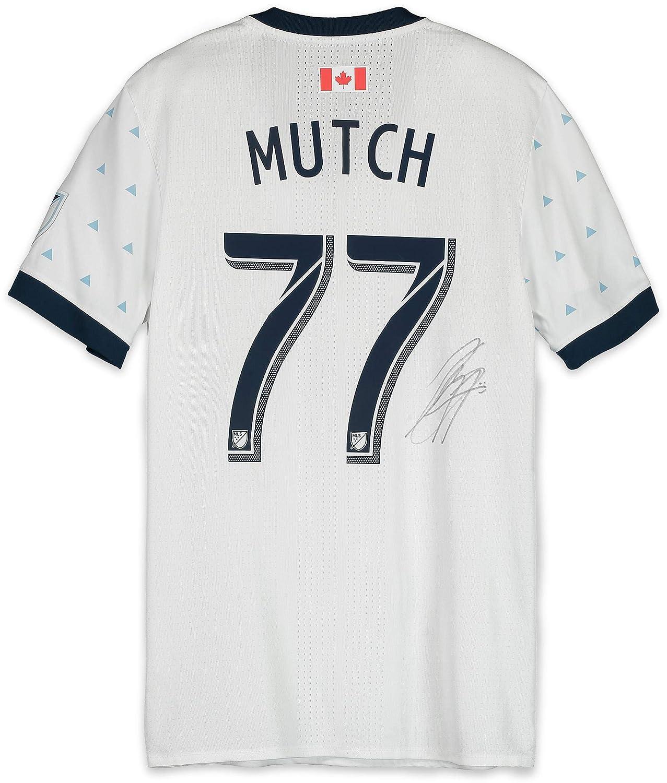 promo code 0276c 4e473 Jordon Mutch Vancouver Whitecaps FC Autographed Match-Used ...