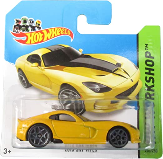 Hot Wheels 2013 SRT Viper HW Workshop Yellow