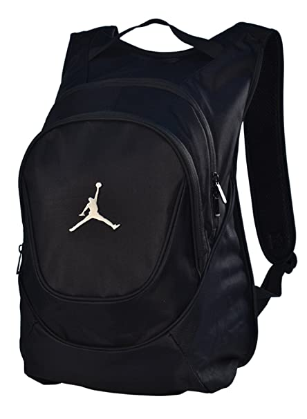 2ff5786b1f1e Jordan Nike Air Jumpman Backpack Book Bag-Black - Buy Jordan Nike Air  Jumpman Backpack Book Bag-Black Online at Low Price in India - Amazon.in