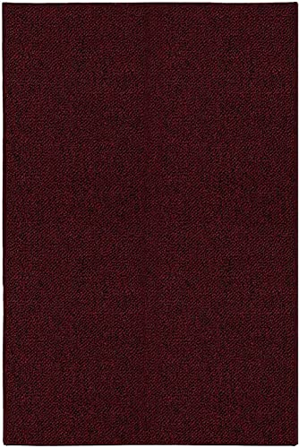 Ambiant Galaxy Way Pet Friendly Indoor Outdoor Area Rugs Burgundy – 12 x20