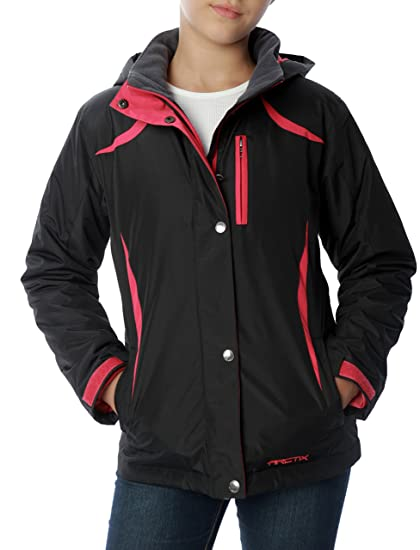 5b960a34cea4 Amazon.com  Arctix Girls Frost Insulated Jacket  Sports   Outdoors
