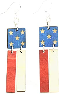 product image for American Flag Earrings
