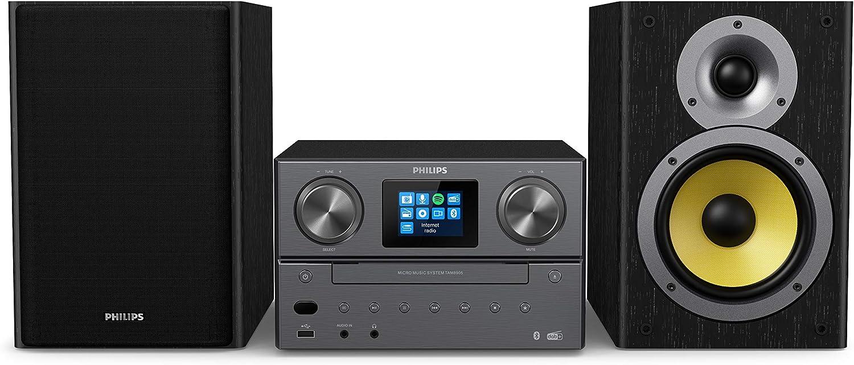 Philips M8905/10 Minicadena de Música con CD y USB y ...