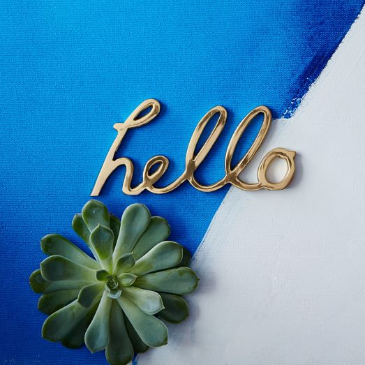 Hello Word Object | west elm