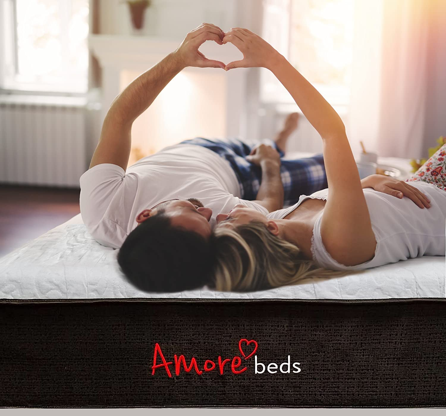 Amazon.com: Amore Beds Best Hybrid Organic Cotton Medium Firmness Mattress (Queen): Kitchen & Dining