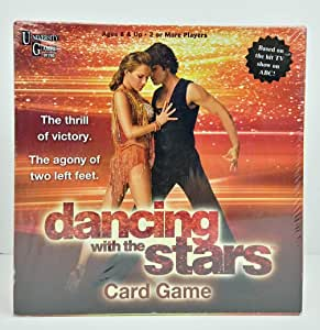 University Games Dancing with The Stars Card Game