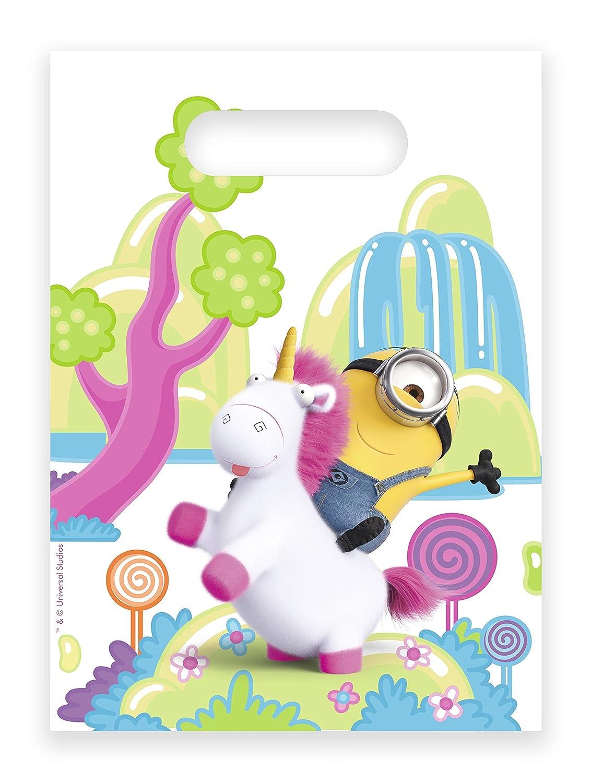 6 de la Fiesta Bolsas * Fluffy * para cumpleaños Infantil ...