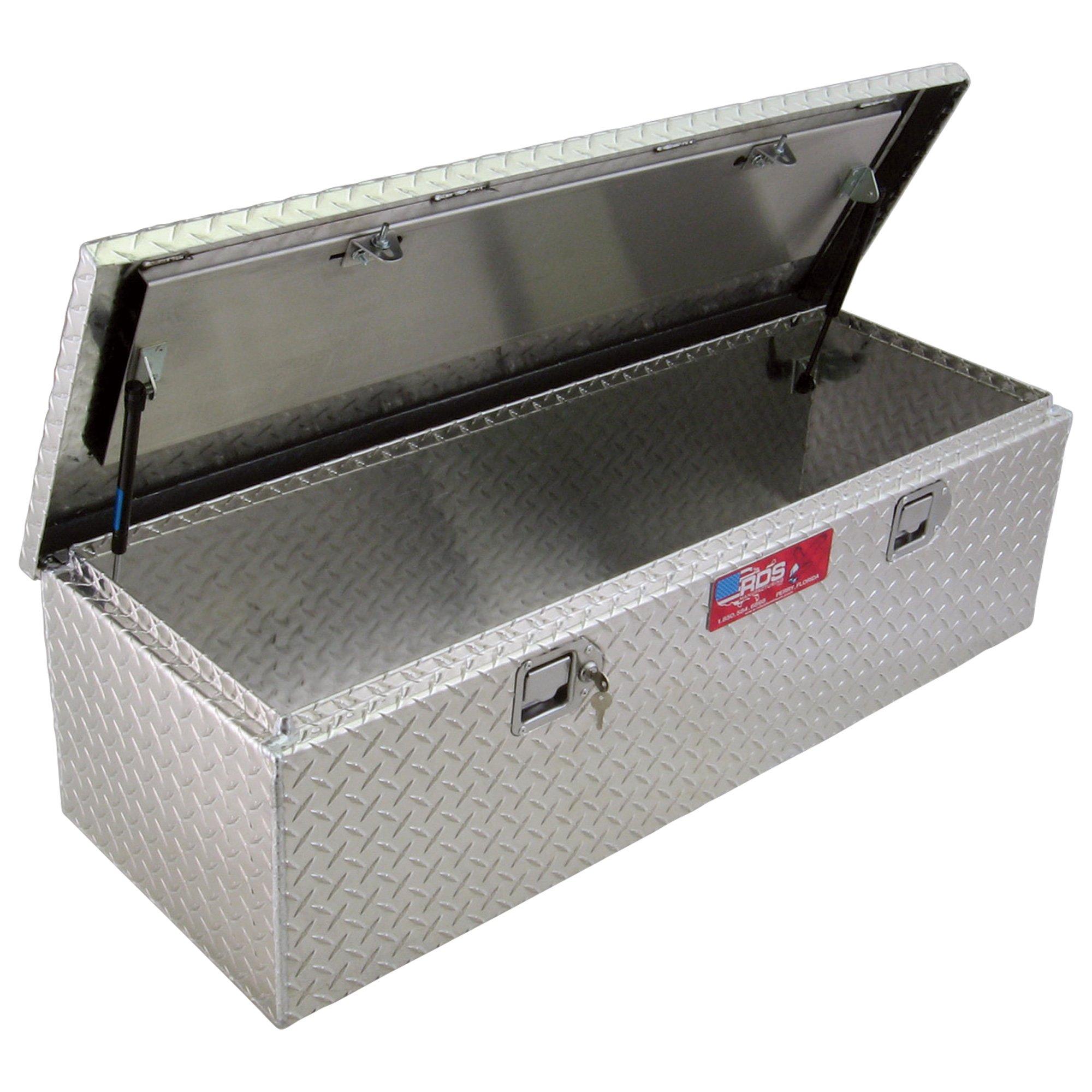 Weatherproof Aluminum Diamond Plate Storage Container Box with Lock