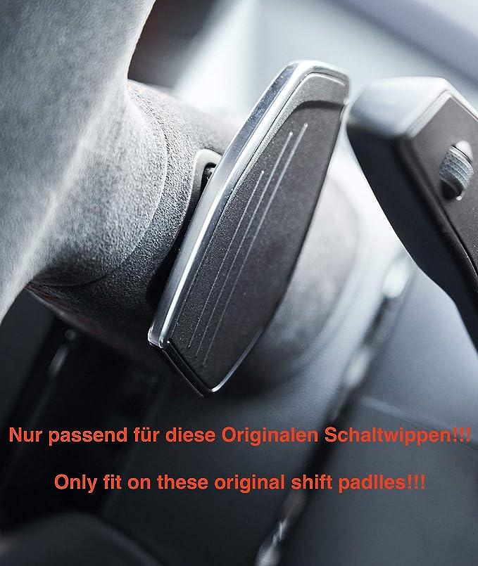 H Customs Echt Carbon S Tronic Schaltwippen Shift Paddle Kompatibel Mit Audi Rs R8 Rs3 Tt Rs 2016 2020 Schwarz Auto
