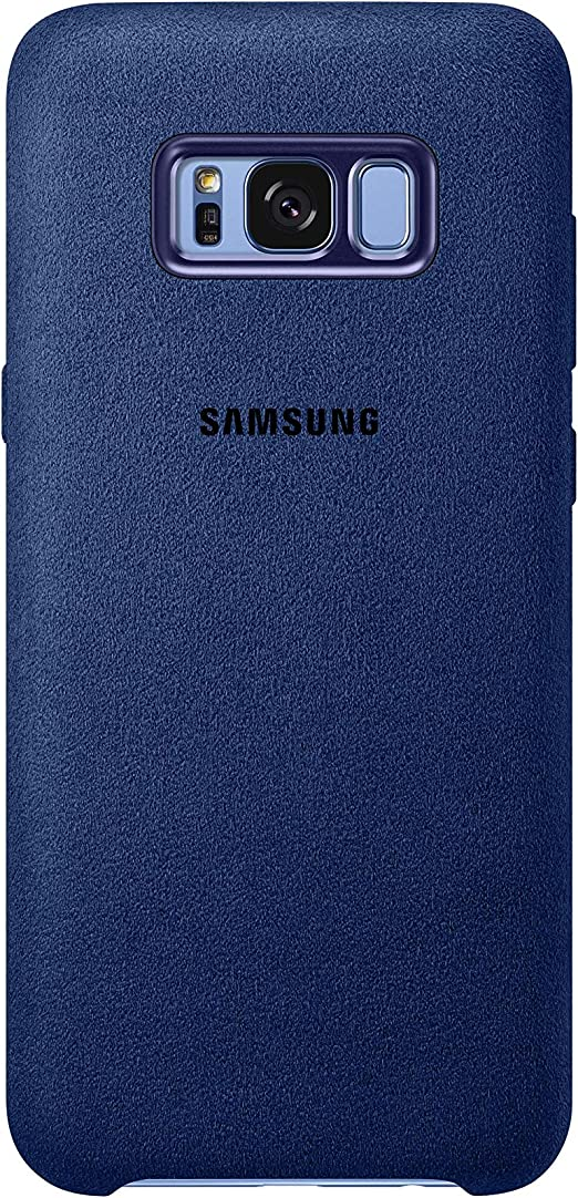 Samsung Alcantara, Funda para smartphone Samsung Galaxy S8 Plus, Azul: Samsung: Amazon.es: Electrónica