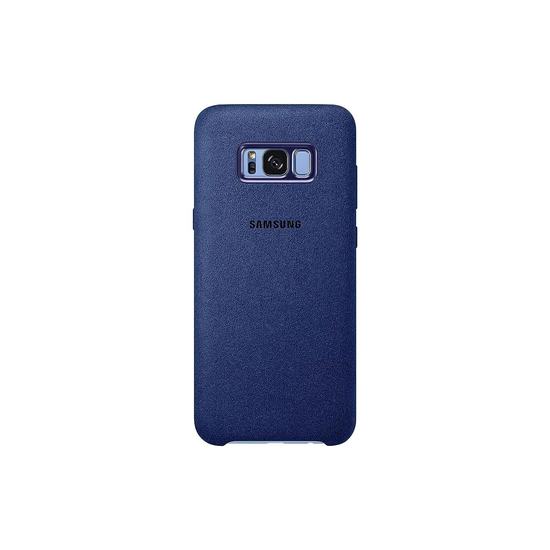 Samsung Alcantara, Funda para smartphone Samsung Galaxy S8 Plus, Azul