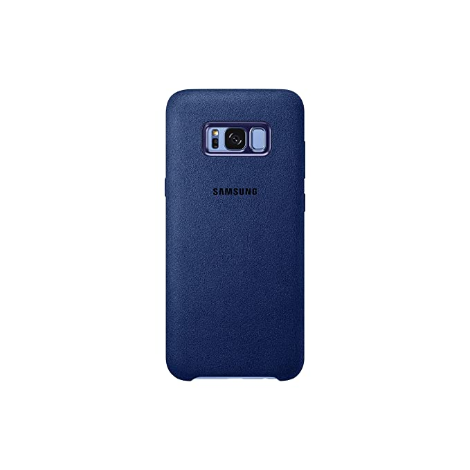 best loved 77998 36a17 Genuine Samsung Alcantara Cover Case for Samsung Galaxy S8+ / S8 Plus (NOT  S8) - Blue (EF-XG955ALEGWW)