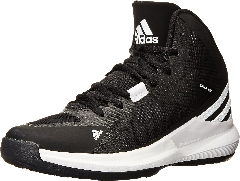 negar A través de plato  adidas Performance Women's Crazy Strike W Basketball Shoe,  Black/White/Black, 11 M US: Amazon.co.uk: Shoes & Bags