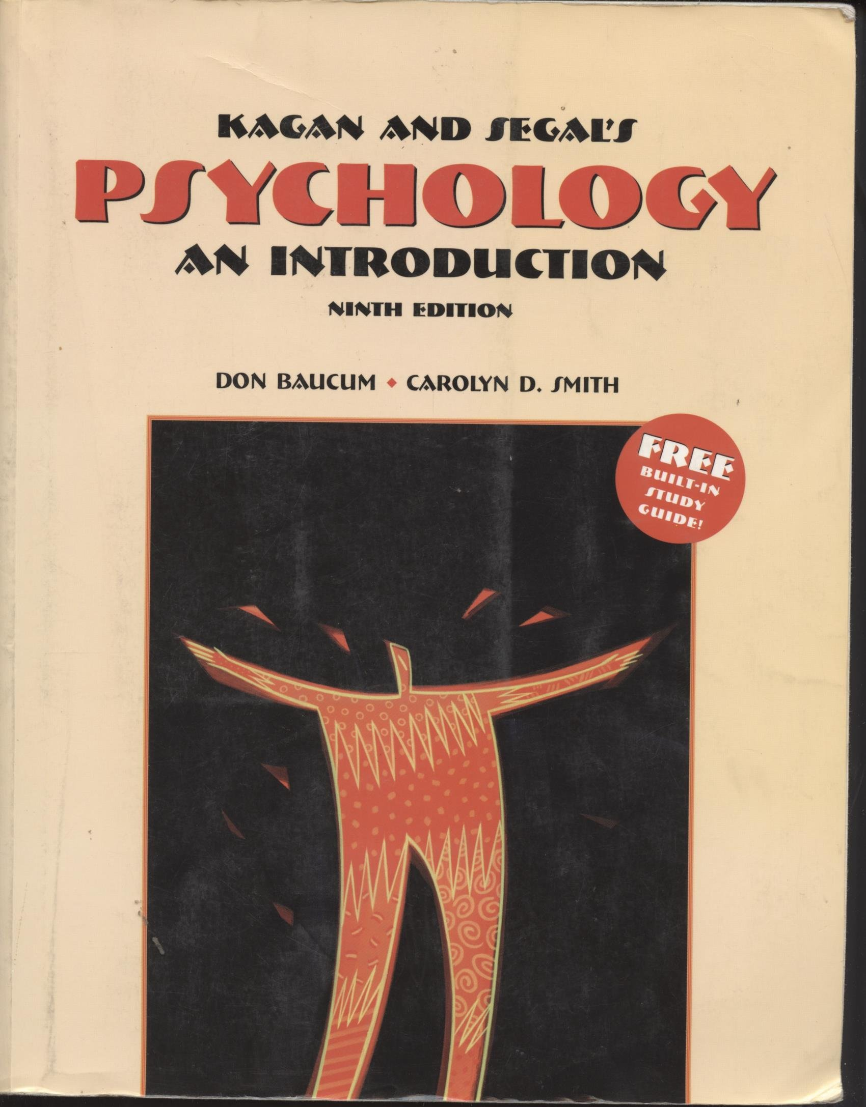 """Kagan and Segals Psychology : Introduction"""" 9TH EDITION: Don Baucum,  Carolyn D. Smith: Amazon.com: Books"""