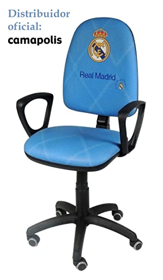 Camapolis Silla oficial Real Madrid con reposabrazos . (azul ...
