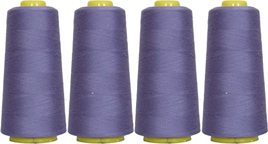 36 Purple/'s Spun Polyester Quilting Serger Sewing Thread