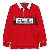 United Colors of Benetton Maglia Polo M/L Camisa Niños