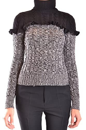 Philosophy Mujer A092857004555 Gris/Negro Lana Suéter