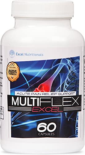Multiflex Joint Support Supplement – Supports Relief Health with Curcumin Turmeric , White Willow Bark and Boswellia Extract.