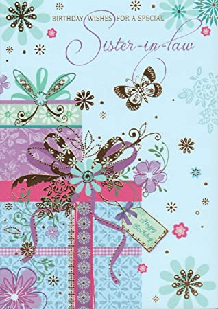 Birthday Wishes For A Special Sister In Law Card