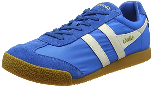 Gola Harrier Nylon, Sneaker Uomo, Blu (PRO.Blue/off White EW Blue), 40 EU